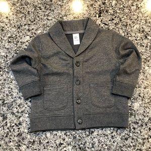 Oshkosh Boys Button Sweater - Size 12-18 Months